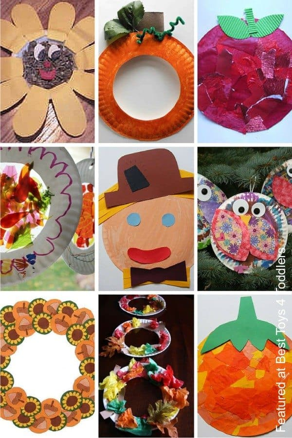 Fun autumn paper plate crafts for kids