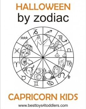 Halloween by Zodiac – Capricorn kid costumes
