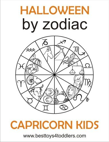 halloween by zodiac capricorn toddler and preschooler costume by besttoys4toddlers.com