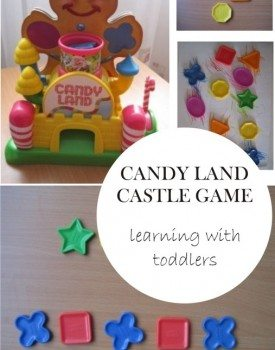 Candy Land Castle Game – Adopted for Toddlers