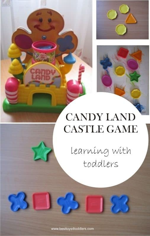 Candy Land Castle Game learning with toddlers board game Best Toys 4 Toddlers