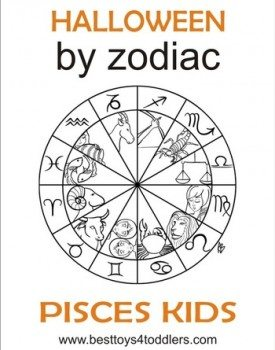 Halloween by Zodiac – Pisces kid costume