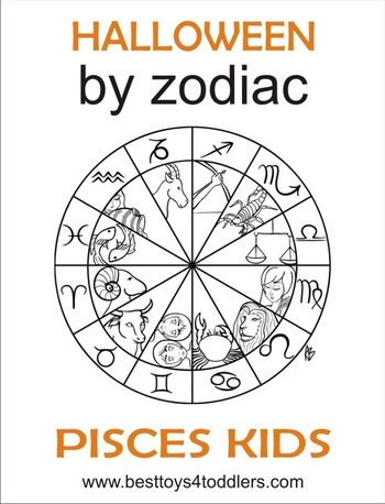 Halloween by Zodiac - pisces kid costume by besttoys4toddlers.com