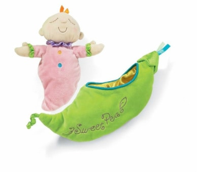 best waiting room toys for toddlers - Sweet Pea Snuggle pod toy