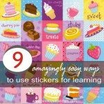 9 Amazingly Easy Ways to Use Stickers for Learning