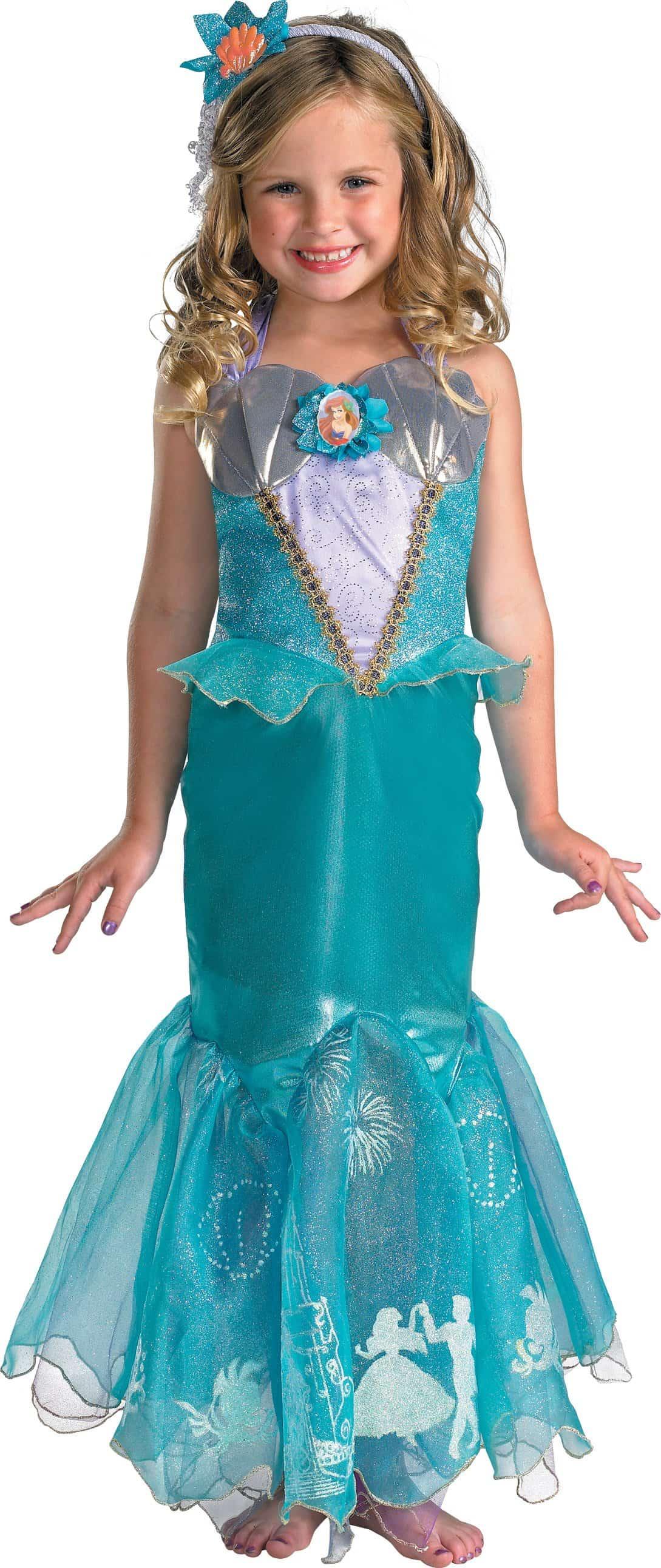 Disney Storybook Ariel Prestige Toddler / Child Costume
