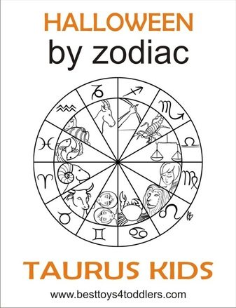 halloween by zodiac taurus kids costumes www.besttoys4toddlers.com