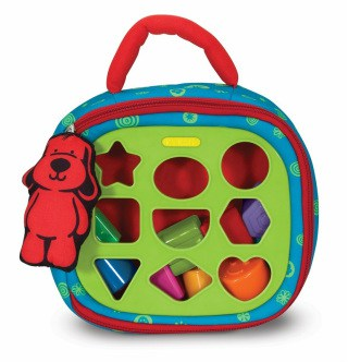 best waiting room toys for toddlers - take along shape sorter