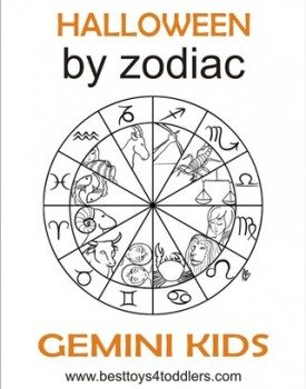 Halloween by Zodiac – Gemini Kid Costumes