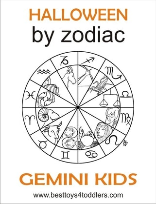 halloween by zodiac - gemini kid costumes by besttoys4toddlers.com