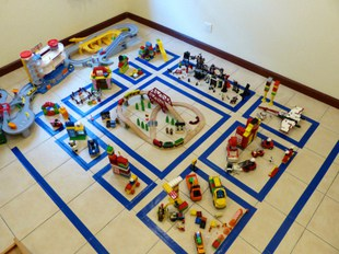 Lego city pretend play idea