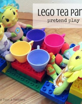 Lego Tea Party Pretend Play