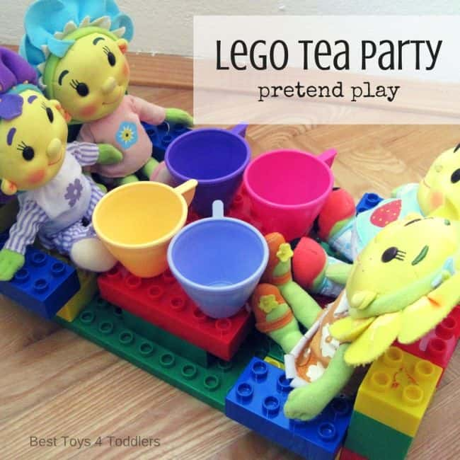 Best Toys 4 Toddlers - Lego Tea Pary Pretend Play
