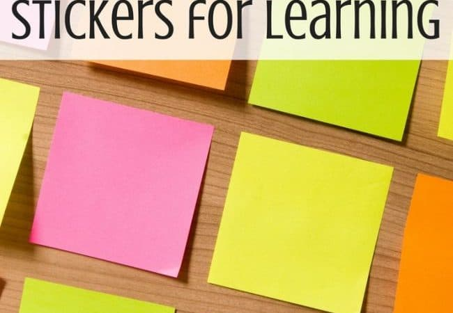 Best Toys 4 Toddlers - 9 amazingly easy ways to use stickers for learning with toddlers and preschoolers