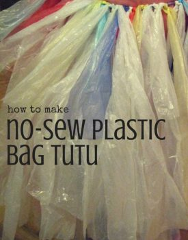 How to Make a No-Sew Plastic Bag Tutu