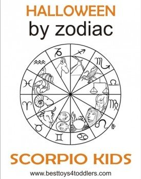 Halloween by Zodiac – Scorpio Kid Costumes