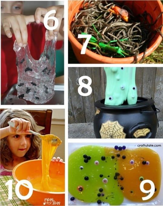 Best Toys 4 Toddlers - 10 magnificent creepy and slimy Halloween sensory play recipes kids will absolutely love