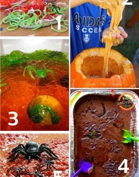 The Slimiest and the Creepiest Halloween Sensory Play Recipes