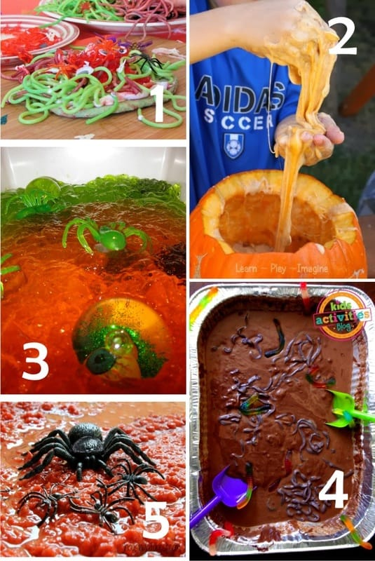 Best Toys 4 Toddlers - Top 10 of the slimiest and the creepiest Halloween sensory play recipes to try with kids around Halloween (or any time of the year!)