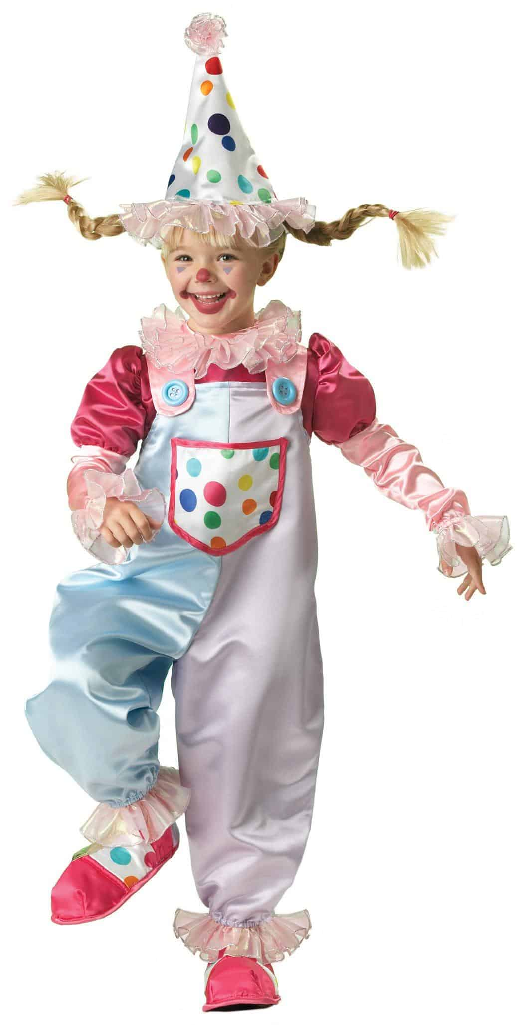 Cutie Clown Toddler Costume