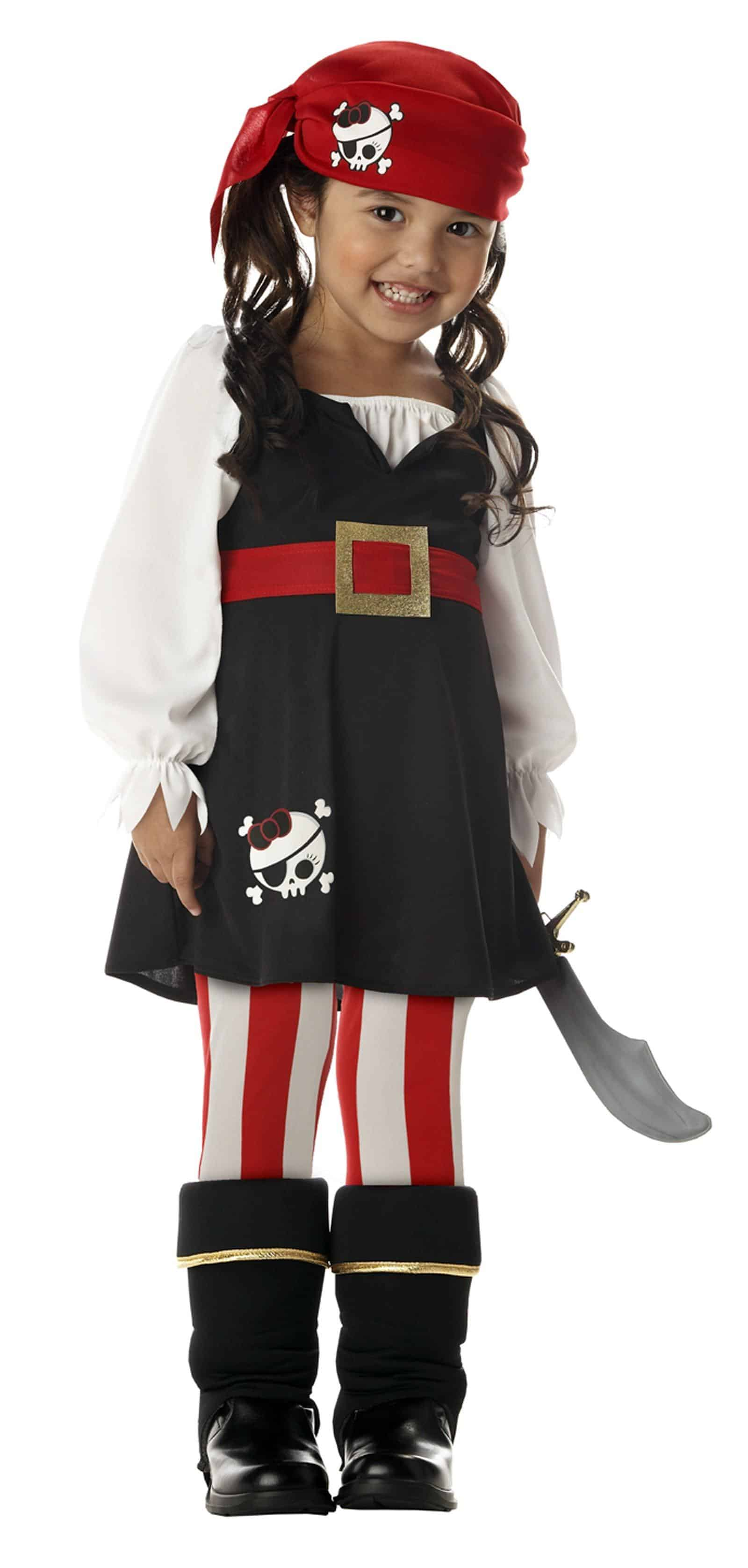 Precious Lil' Pirate Toddler / Child Costume