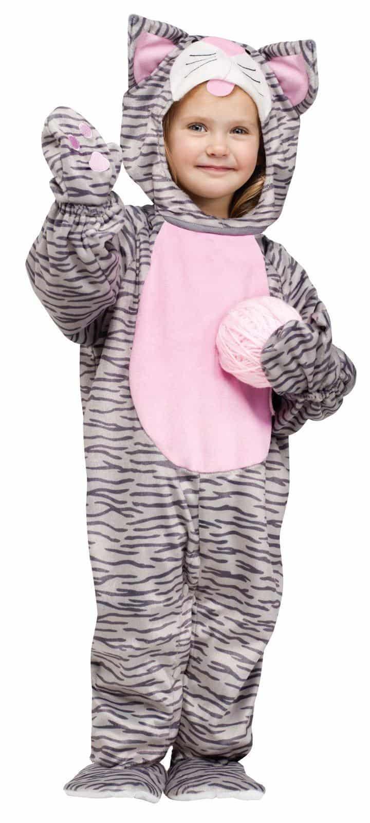 Little Stripe Kitten Toddler Costume