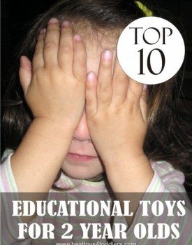 Top 10 Educational Toys for 2 Year Old Toddlers (gender neutral)