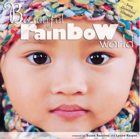 Living in a Beautiful Rainbow World - review and activity about diversity by Best Toys 4 Toddlers