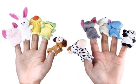 Best Toys 4 Toddlers - top 10 educational toys for 1 year old toddlers - finger puppets