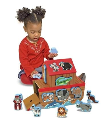 Best Toys 4 Toddlers - top 10 educational toys for 1 year old toddlers - Noah ark shape sorter
