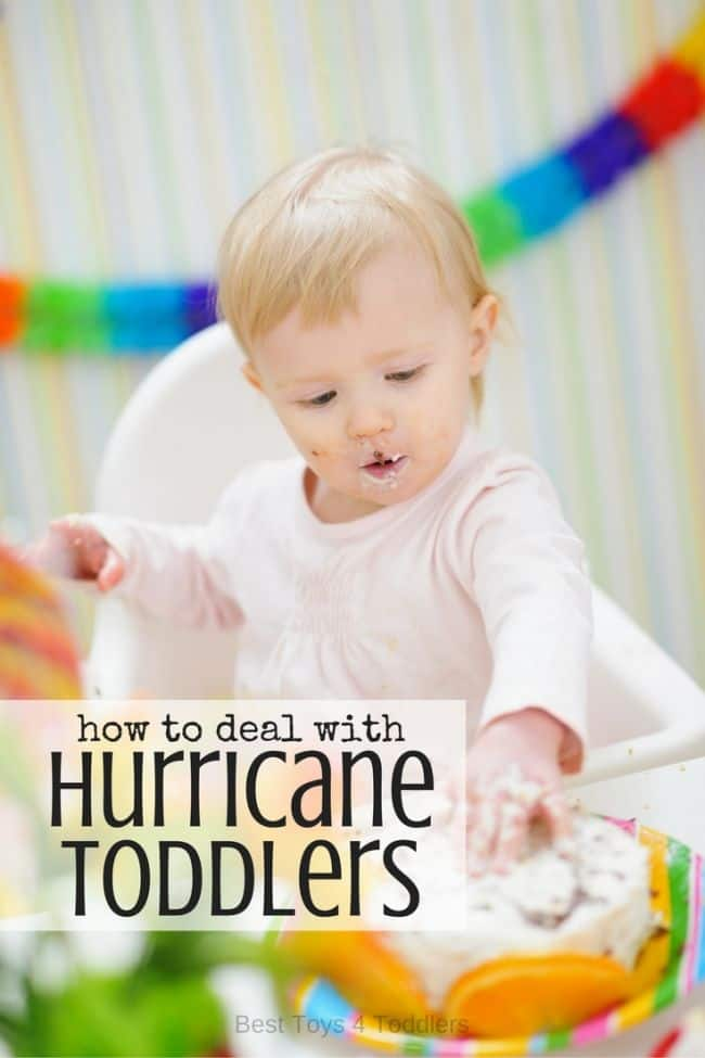 Best Toys 4 Toddlers - Tips by parents to help deal with hurricane toddlers
