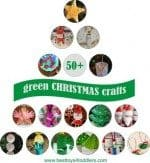 50+ Green Christmas Crafts for Kids