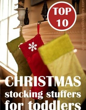 Our favorite Christmas stocking stuffers for kids - they actually CAN fit inside a Christmas stocking and don't cost a fortune!