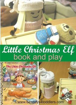 Little Christmas Elf book and play