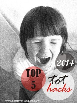 Top 5 Tot Hacks of 2014 - Tips from brushing teeth to chores for toddlers, shared by real moms!