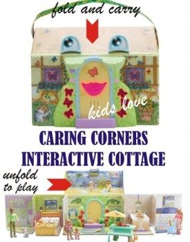 Kids Love Caring Corners Interactive Cottage