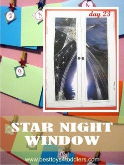 Star Night Window