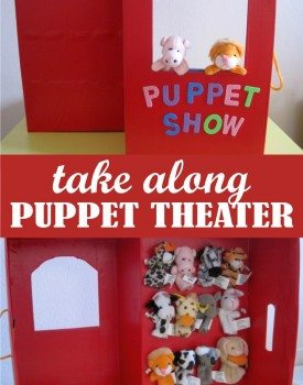Take Along Finger Puppet Theater Tutorial