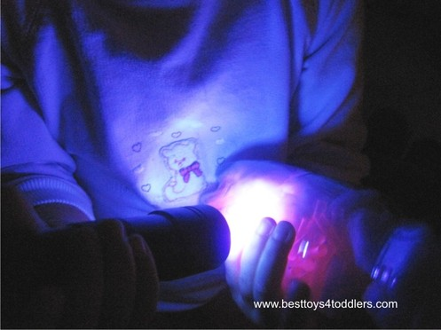 No Liquids Calm Down Sensory Bottle - with glow in the dark effect! Perfect for tiny toddlers, no spilling in the bed!