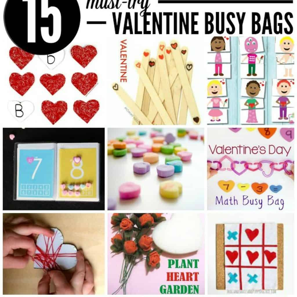 15 Must Try Valentine's Day Busy Bags