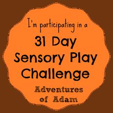 31 Day Sensory Play Challenge