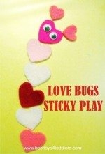 Love Bugs Sticky Play