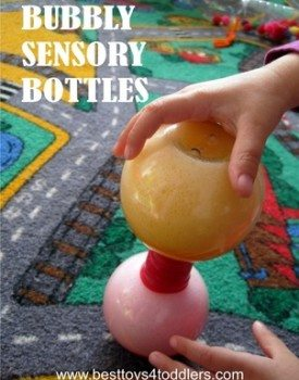 Bubbly Sensory Bottles