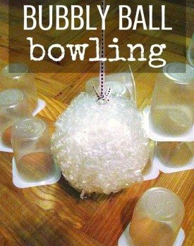 Bubbly Ball Bowling – Indoor Activity for Kids
