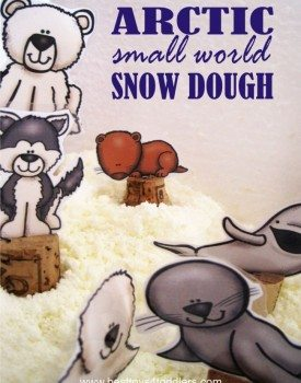 Arctic Small World Snow Dough
