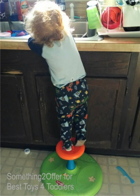 Simple Washing Station for Toddlers, - toddlers in the kitchen