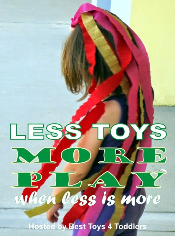 24 articles to be released in February 2015 about ways to cut down on toy consumerism and clutter and bring more engaged play to our children