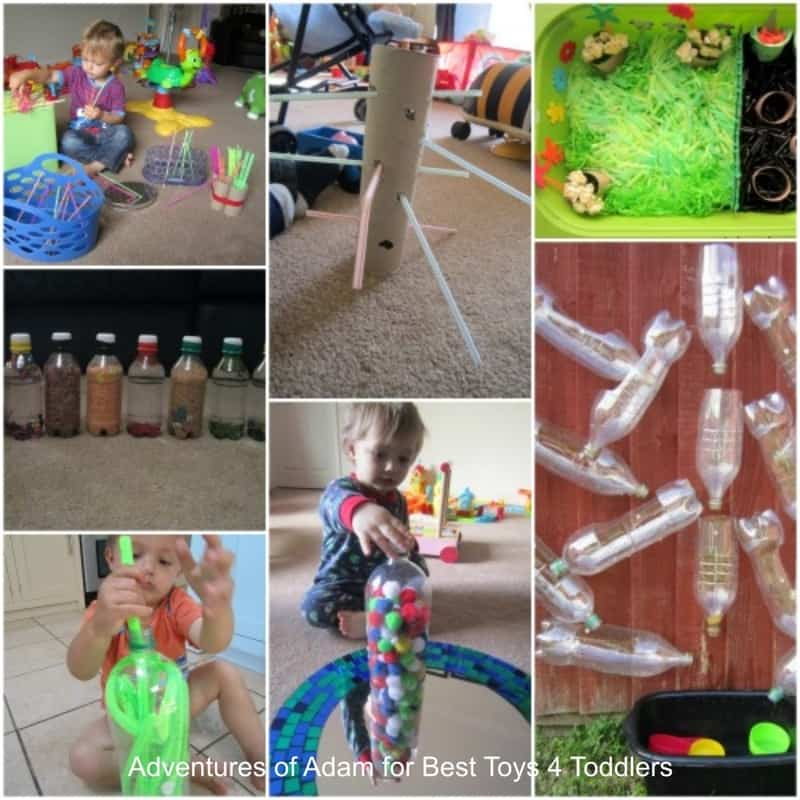 15+ Ways to Turn Kitchen Cupboard Items Into Toys, part of Less Toys. More Play. series