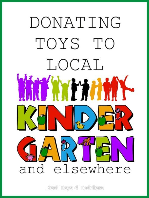 Donating Toys to Local Kindergarten and elsewhere, as a way to teach kids to be kind and loving #bekind #declutter #RAKday #randomactsofkindess #kindchild
