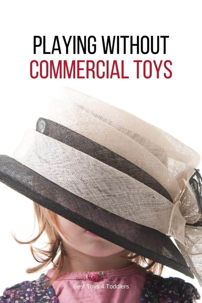 """Playing without Commercial Toys - get inspired for a next treasure hunt to turn something ordinary to a brand new """"toy"""" for your child!"""